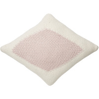 Lorena canals coussin losange candy vanilla rose
